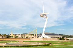 Calatrava Tower, Barcelona Royalty Free Stock Photo
