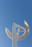 Calatravas Telekommunikations-Kontrollturmnahaufnahme Lizenzfreie Stockfotografie