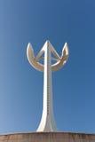 Calatravas Telekommunikations-Kontrollturmnahaufnahme Lizenzfreie Stockbilder