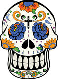Calaverita de Azucar - Halloween Stockfotos