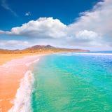 Calblanque海滩公园Manga穆尔西亚3月Menor 免版税库存照片