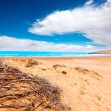 Calblanque beach Park Manga Mar Menor Murcia Stock Photography