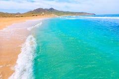 Calblanque beach Park Manga Mar Menor Murcia Royalty Free Stock Images