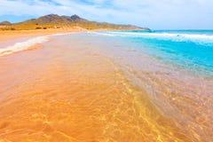 Calblanque beach Park Manga Mar Menor Murcia Royalty Free Stock Photo
