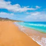 Calblanque beach Park Manga Mar Menor Murcia Royalty Free Stock Photography