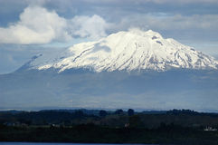 Calbuco wulkan Zdjęcia Royalty Free