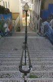 Calcada do Lavra street in Lisbon Royalty Free Stock Photography