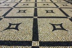 Calcada Portuguesa, Portuguese Pavement Stock Images