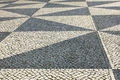 Calcada Portuguesa, Portuguese Pavement Royalty Free Stock Image