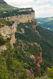 Calcareous cliffs in Tavertet, Catalonia Stock Photos