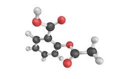 Calcascorbin det arketypiska smärtstillande medlet som används i behandlingnollan fotografering för bildbyråer