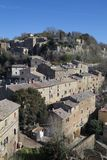 Calcata, Βιτέρμπο, Λάτσιο, Ιταλία, Ευρώπη Στοκ Εικόνες
