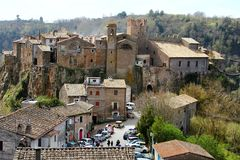 Free Calcata, An Old Village In Italy Stock Photo - 113742550