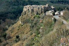 Calcata, medieval italian village in Viterbo province, Lazio ,Italy x royalty free stock photos