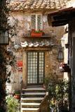 Calcata, un pueblo viejo en Italia Fotografía de archivo