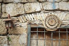 Calcata, un pueblo viejo en Italia Imagen de archivo libre de regalías