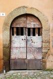 Calcata, un pueblo viejo en Italia Imagen de archivo