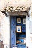 Calcata, un vieux village en Italie Images stock