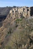 Calcata, Viterbe, Latium, Italie, l'Europe Photographie stock
