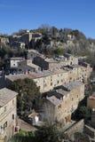 Calcata viterbo, lazio, Italien, Europa arkivbilder