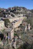 Calcata viterbo, lazio, Italien, Europa royaltyfri fotografi