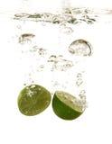 Calce in acqua Fotografia Stock Libera da Diritti