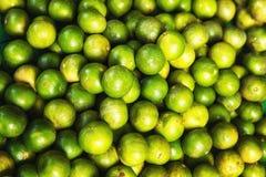 Calce di verde del fondo dell'alimento Fotografie Stock