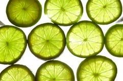 Calce e frutta 1 Immagine Stock