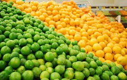 Calce ed agrume Fotografia Stock Libera da Diritti