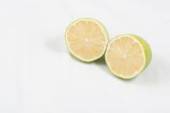 Calce verde dei limoni Fotografia Stock