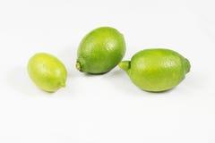 Calce verde del limone Fotografia Stock Libera da Diritti