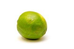 Calce verde su bianco Fotografie Stock Libere da Diritti