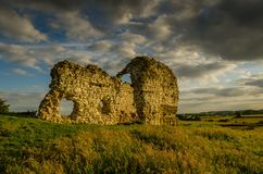 Calceby Ruins Stock Image