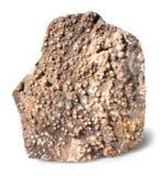 Calcedônia - teste padrão mineral Fotos de Stock