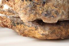 Calcedonia - modelo mineral Fotografía de archivo