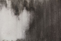 Calcestruzzo afflitto in bianco e nero fotografie stock libere da diritti