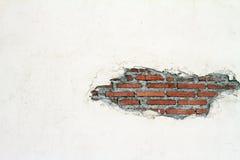 Calcestruzzo bianco di colore della vecchia parete Fotografia Stock Libera da Diritti