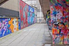 Calcestruzzo decorato Fotografie Stock