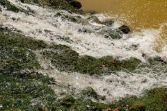 Calcestruzzo della cascata Immagini Stock