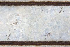 Calcestruzzo della ruggine Fotografia Stock