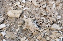 Calcestruzzo di demolizione Fotografia Stock Libera da Diritti