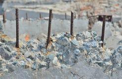 Calcestruzzo distrusso 6 Fotografia Stock Libera da Diritti