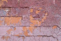 Calcestruzzo, stagionati astratti con le crepe ed i graffi, fondo di struttura Fotografia Stock Libera da Diritti
