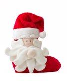Calcetín de la Navidad imágenes de archivo libres de regalías