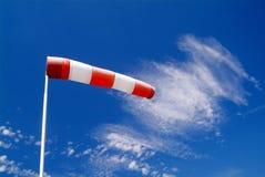 Calcetín de viento Foto de archivo libre de regalías