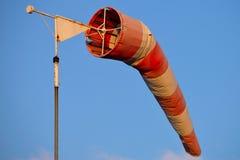 Calcetín de viento Foto de archivo