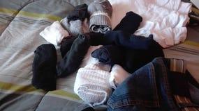 calcetines Fotos de archivo libres de regalías