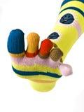 Calcetines coloridos Imágenes de archivo libres de regalías