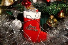 Calcetines de la Navidad Foto de archivo