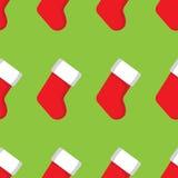 Calcetines de la Navidad Imágenes de archivo libres de regalías